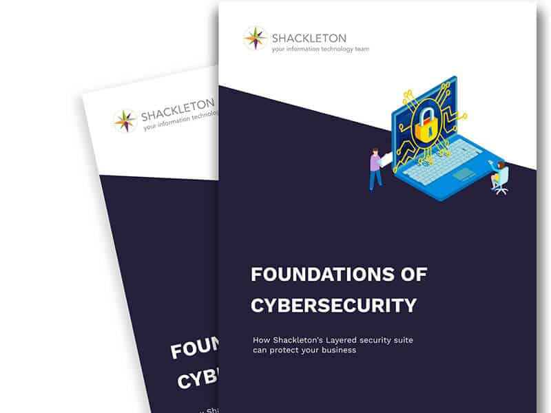 client guides - Foundations of Cybersecurity - Cyber Security for your business - Downloadable Resrouce - IT Support - Dundee