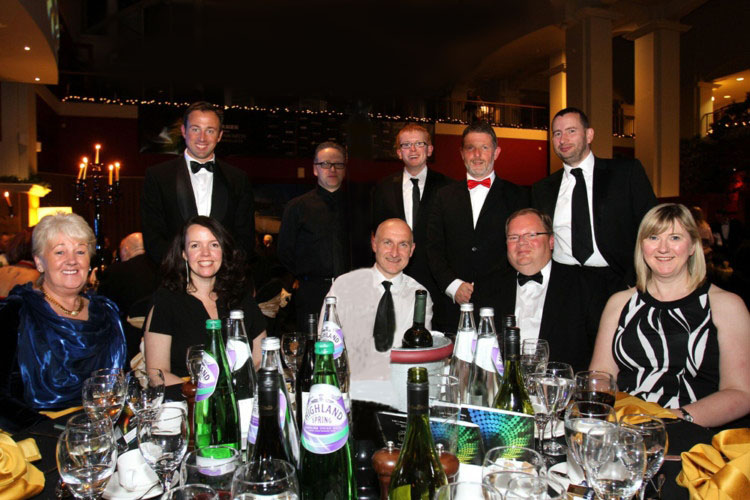 Courier Business awards 2013 - Shackleton Technologies - IT Support Blog - Dundee, Tayside, Angus, Fife