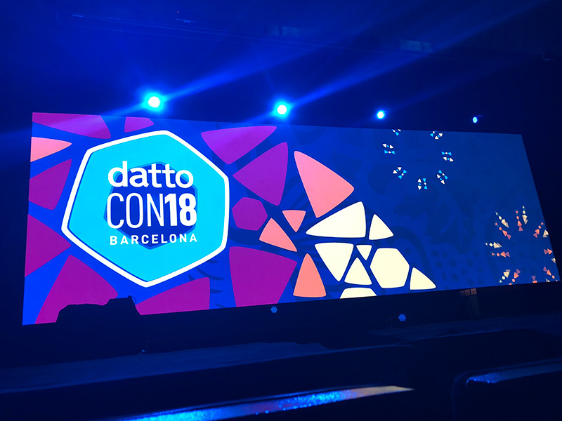DattoCon18 Conference - Shackleton Technologies - Dundee - Perth - Tayside - IT Support for your business