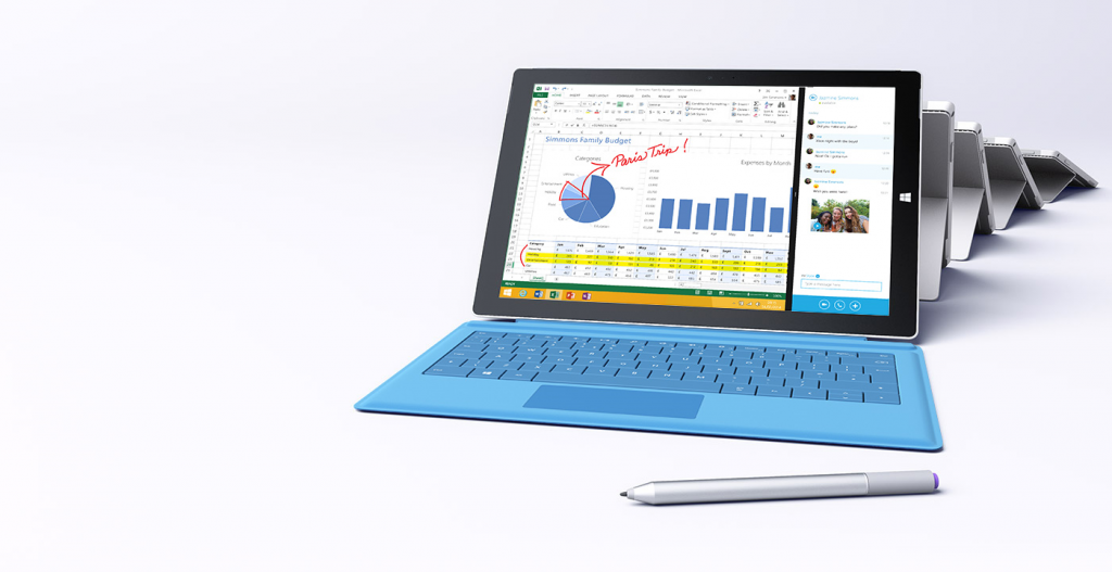 Microsoft Surface 3 - IT Blog by Shackleton Technologies, Dundee