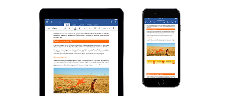 New iOS versions of Microsoft Office for iPhone and iPad - Shackleton Technologies Dundee, Tayside, Angus and Fife