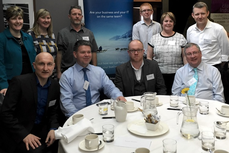 Shackleton attends Microsoft's High Noon Lunch - IT Support services, Dundee, Angus, Tayside, Fife, Perth