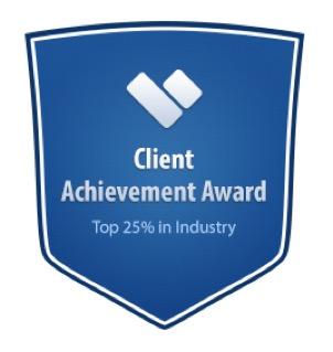 client achievement award