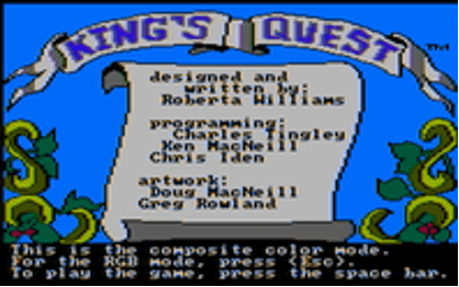 Kings Quest Graphic - Throwback Thursday - Shackleton Technologies