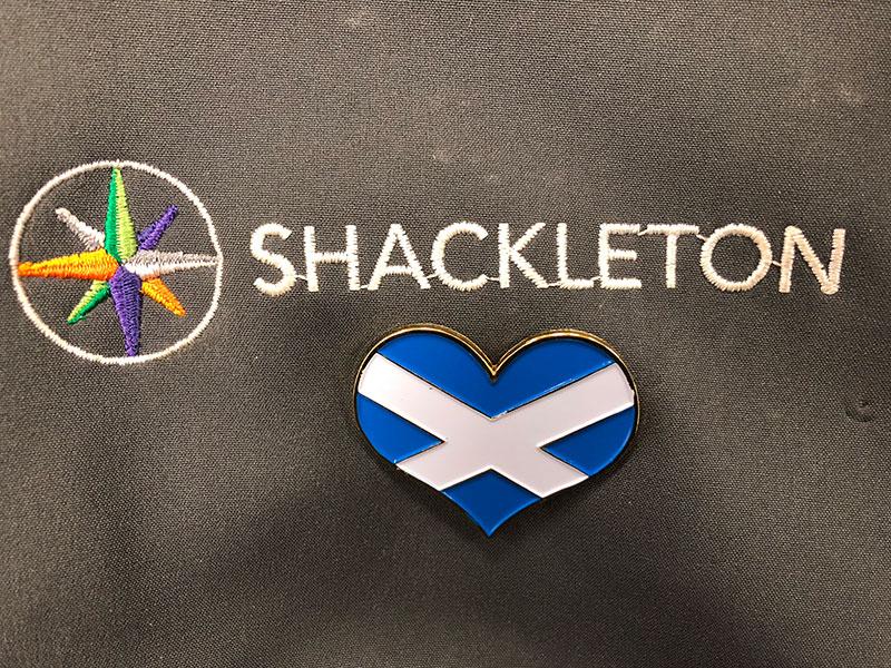 Shackleton Emblem - IT Support - Fife - Tayside - Dundee